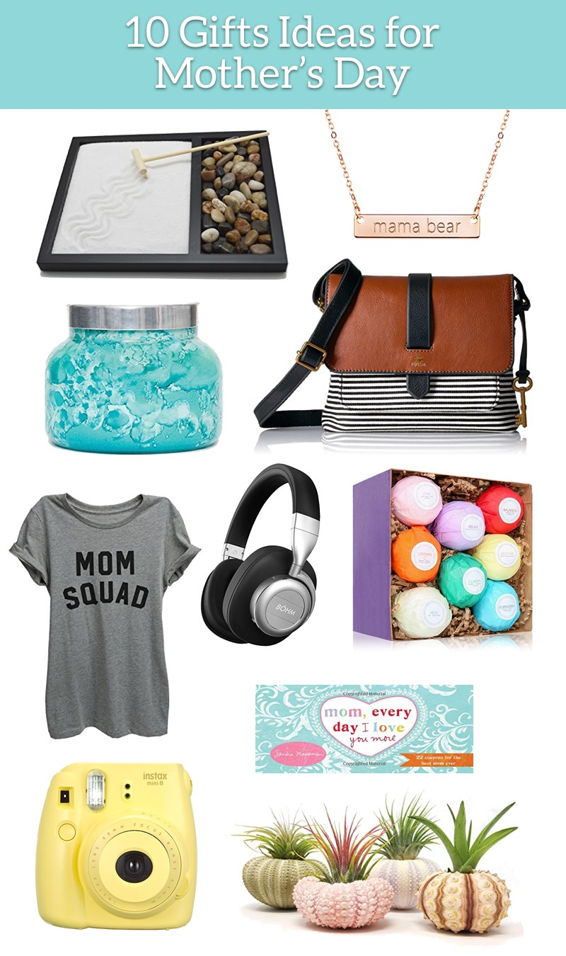 10 Perfect Gift Ideas for Mothers Day