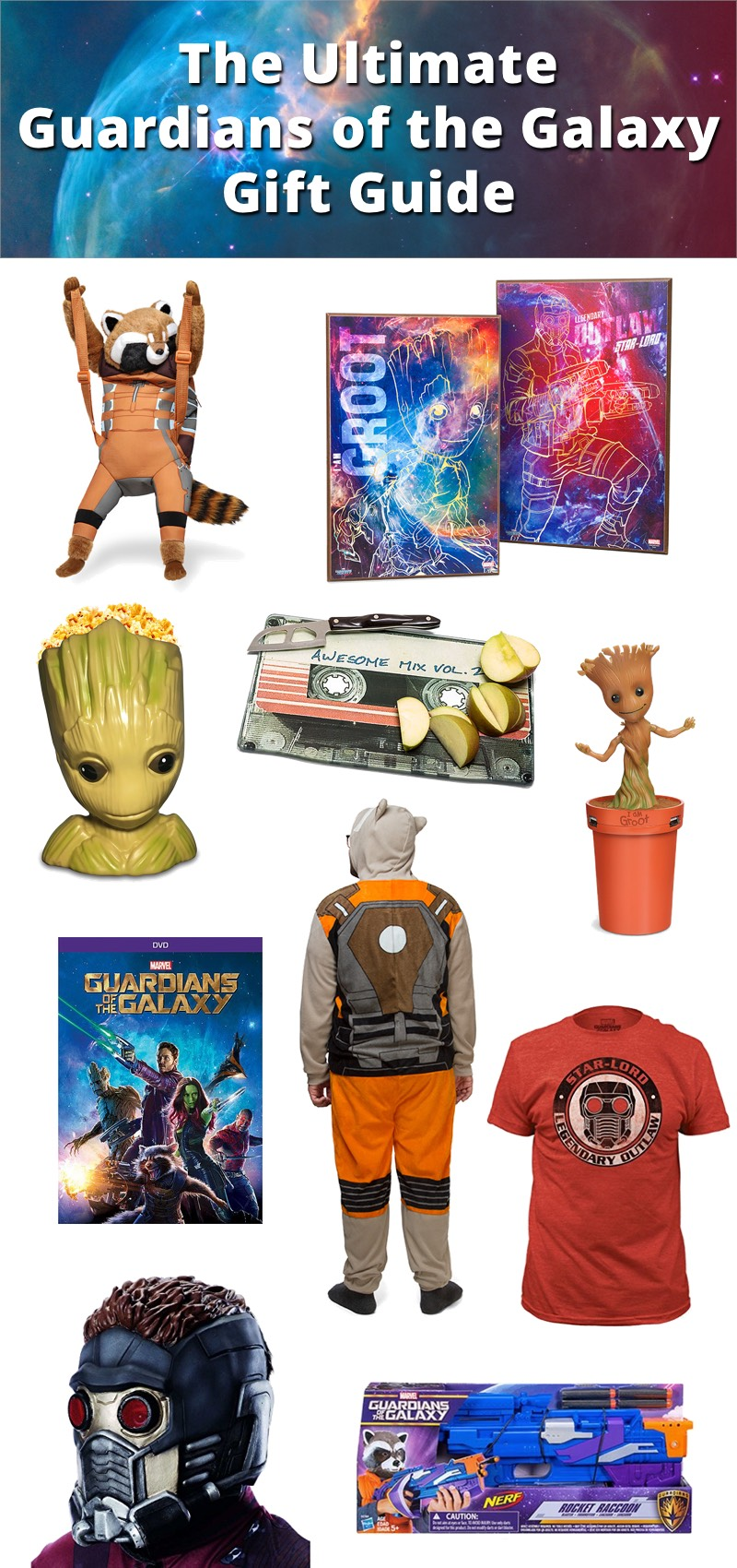 Guardians of the galaxy gift guide