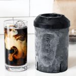 Quick-chilling iced coffee maker