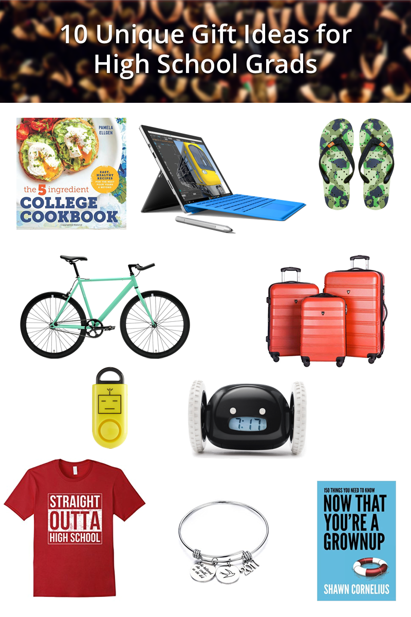 graduation gift guide collage