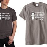 the office michael scott quote shirt