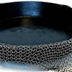 Metal Mesh Cast Iron Cleaner