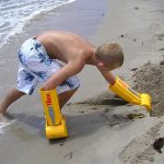 Sand Digging Backhoe Arm Toy
