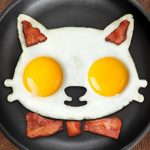 Silicone Kitty-Shaped Egg Mold