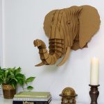 Taxidermy Elephant 3D Puzzle