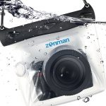 DSLR cover for underwater photography