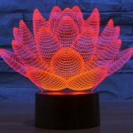 Optical Illusion Color Changing Nightlight