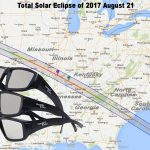 Solar eclipse-viewing glasses
