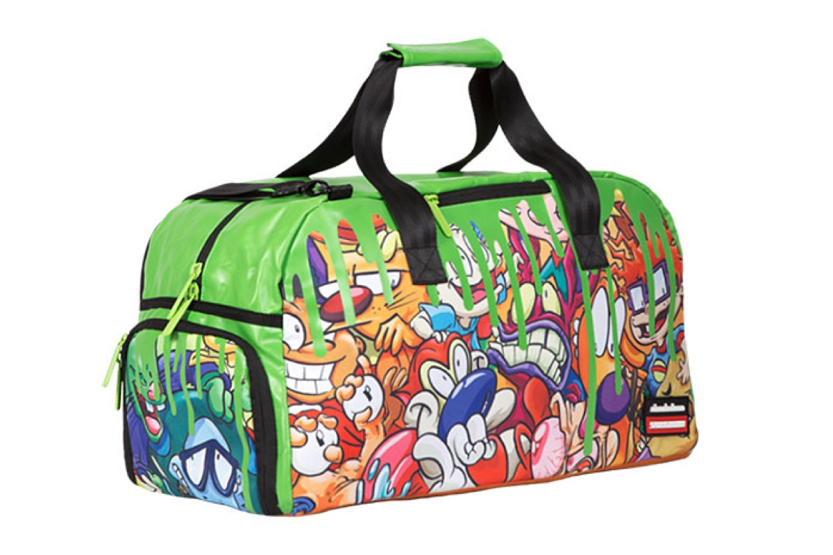 Nickelodeon Slime Duffel Bag Mugwomp