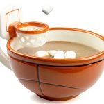 basketball hoop novelty mug
