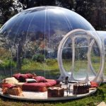 bubble dome inflatable tent