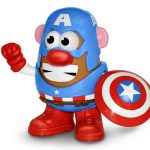 captain america Mr. potato head