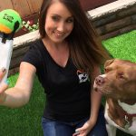 dog selfie tennis ball attachment