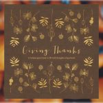 giving thanks thanksgiving guest book