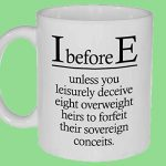 i before e grammar rules mug