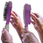 self cleaning hairbrush