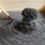 stress relieving magnetic zen garden