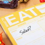what to eat meal planning notepad