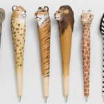 wood carved animal pens