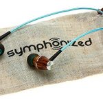 wooden earbuds with microphone