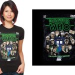 Dr. who shirt with all doctors