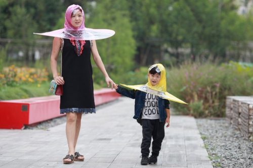 Hands Free Umbrella Hat  660694cec499